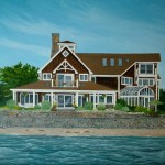 Custom Ocean Home Portraits artist Christopher Wheat
