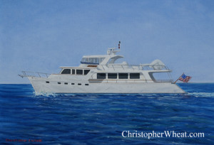 custom yacht portraits