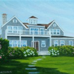 Nantucket Ocean Home Custom Painting artist Christopher Wheat