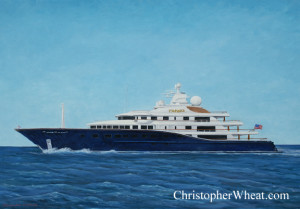 Super Yacht Custom Portraits