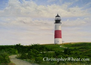 Path to Sankaty Light Nantucket ~ by Christopher Wheat