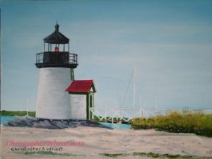 Brant Point by artist Christopher Wheat