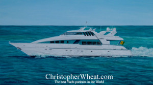 Moonraker Yacht Portrait