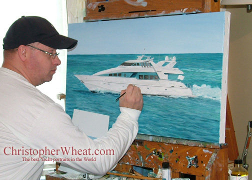 ChrisChristopher Painting Moonraker