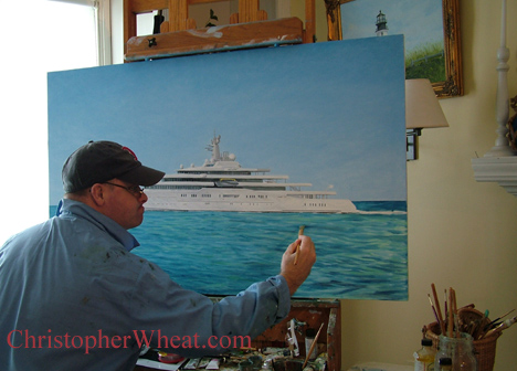 Fine art Custom Yacht Portraits