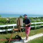 Custom Nantucket Paintings - Artist Christopher Wheat