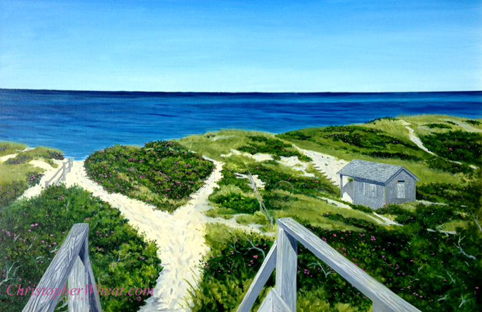 Steps Beach, Nantucket Prin
