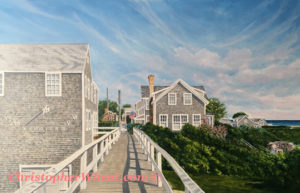 Siasconset Bridge-Print, Artist Christopher Wheat