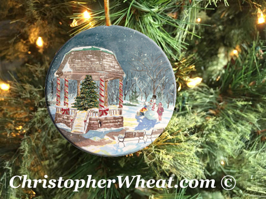 The Night Before Christmas - Christmas Ornament by Christopher Wheat
